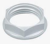 20MM PVC LOCKNUT WHITE