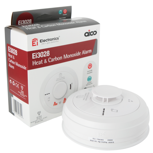 Aico EI3028 Multi-Sensor Fire CO Alarm
