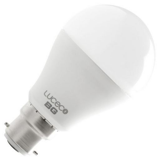 9W LED GLS BC Non Dimmable Warm White
