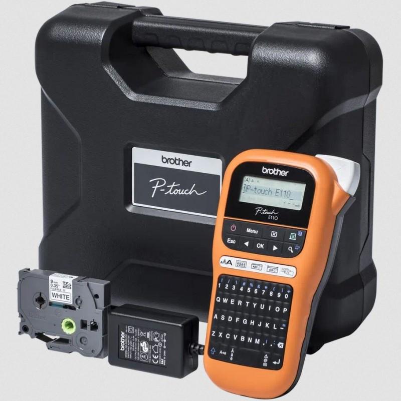 Brother PTE110VPZU1 Handheld Label Printer