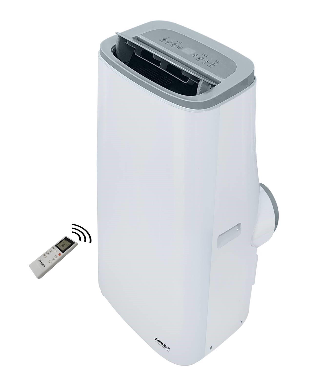 Portable Air Conditioner with Remote Control - White