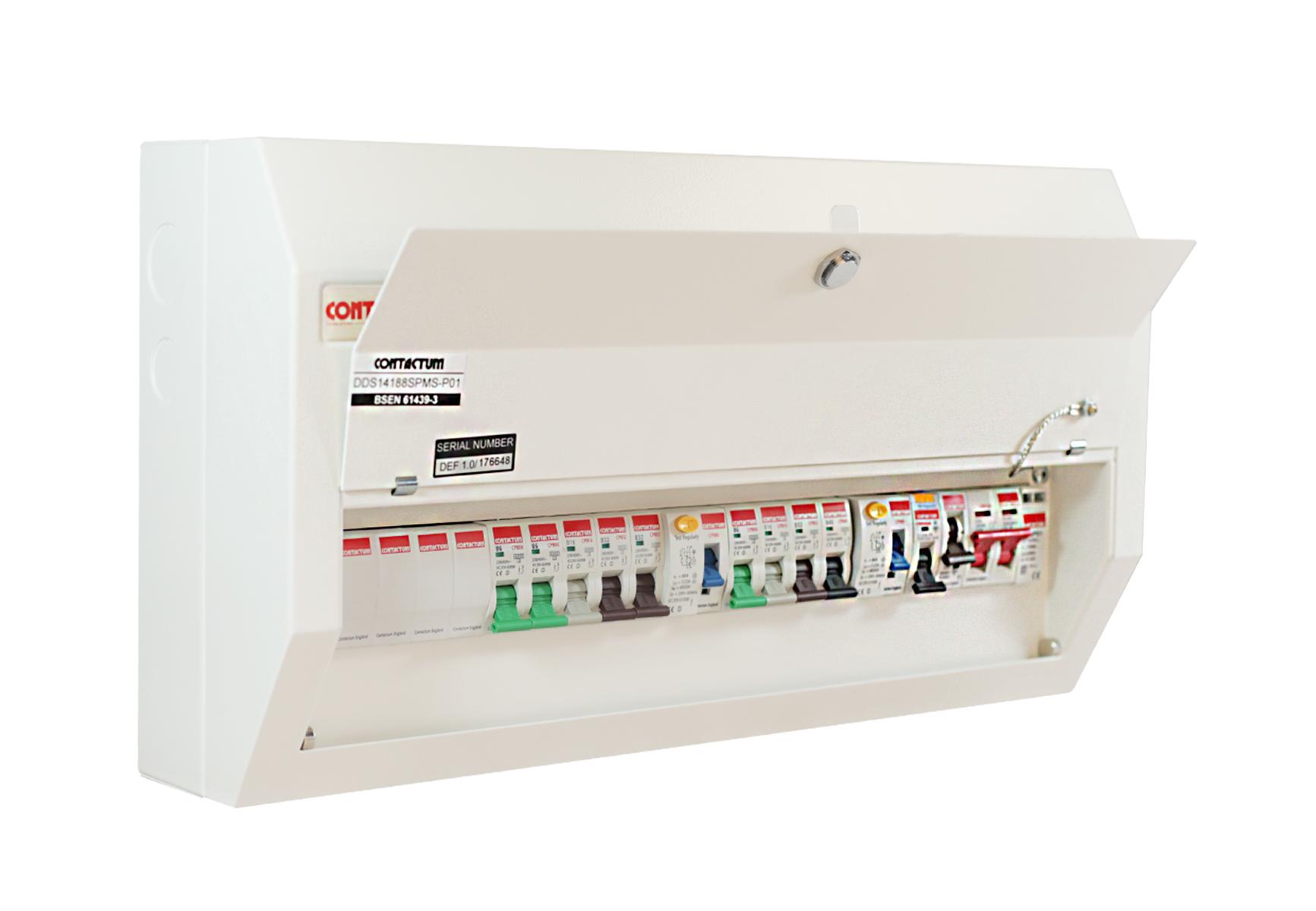 Contactum DDS14188SPMS-P01 Consumer Unit 14 Way