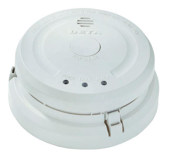 Deta 1169 Carbon Monoxide Alarm 230V Whi