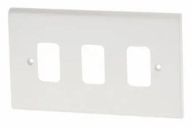 Deta G3303 Frontplate 3 Gang White