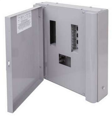 Eaton EBM61 Distribution Board 6 Way TPN 125A. type B without Incomer
