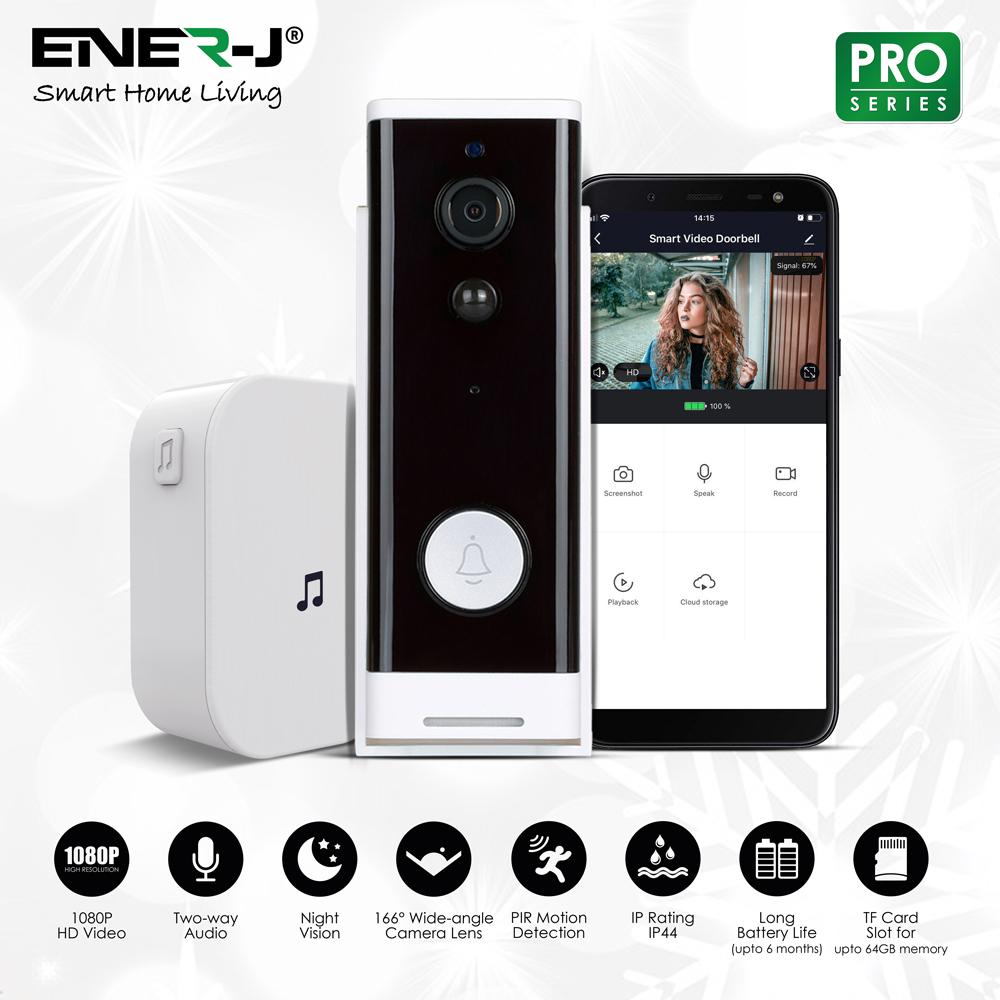 ENER-J SHA5307 SMART WIFI VIDEO DOOR BELL