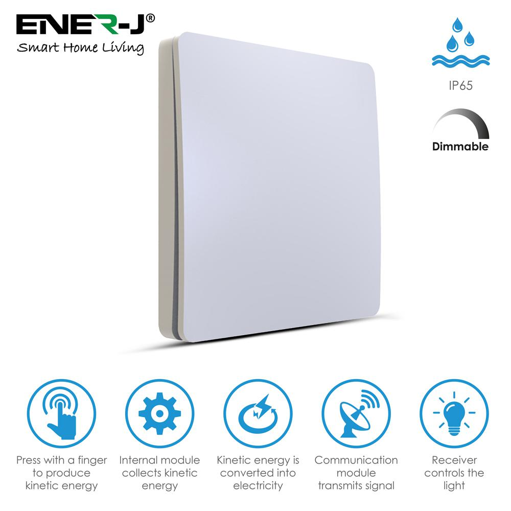 ENER-J WS1024 Pro Series Wireless Dimmable 1 Gang Switch