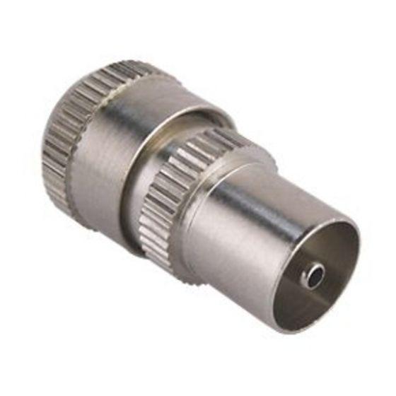 Premium Coaxial Plug Aluminium