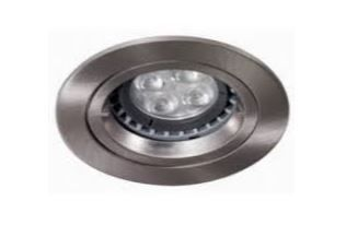 Philips Lighting BBS165SN Coreline IP65 LED Fire Rated Downlight Satin Nickel