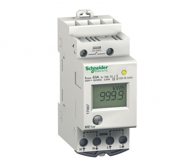 SCHNEIDER 17067 METER ME1ZR KWH - ONLY 2 Available