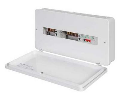 Schneider Easy9+ 7+6 Dual 100A RCD Metal Clad Consumer Unit with SPD