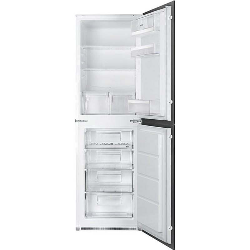 Smeg UKC3170P1 60cm Integrated In Column Fridge Freezer