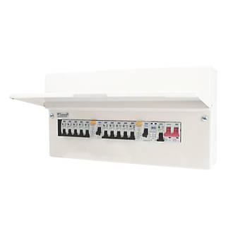 BG CFUDP18611SPD-01 Consumer Unit 1 x 80A 1 x 63A + 10 MCB's