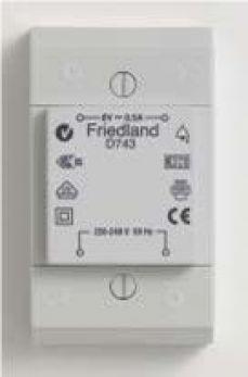 Friedland D743 Transformer 8V 0.5A