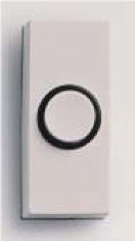 Friedland D814 Sesame White Bell Push