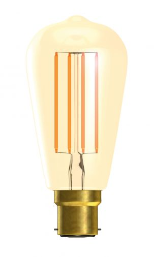 Bell LED Vintage Squirrel Cage 4W BC Warm White