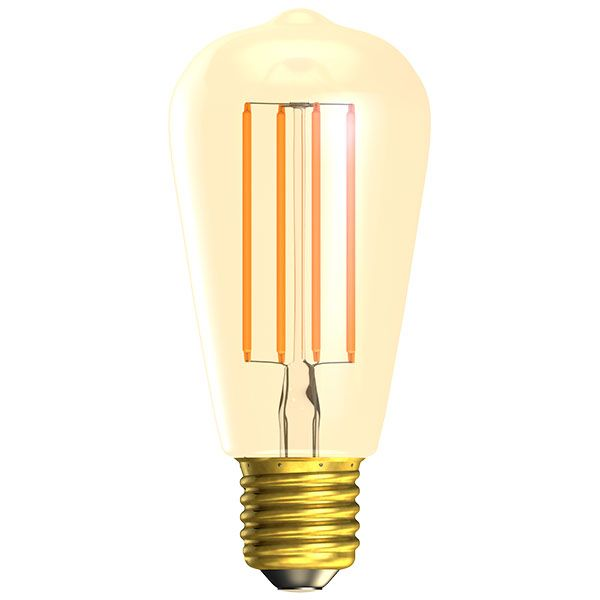 Bell LED Vintage Squirrel Cage Full Glass Dimmable Warm White 4W ES