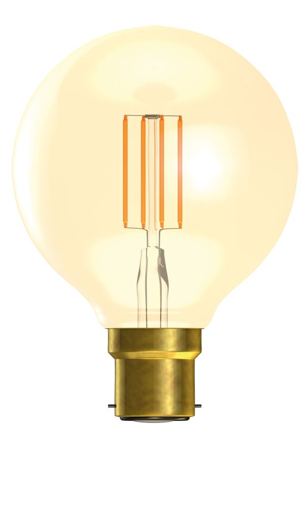 Bell LED Vintage Globe Full Glass Dimmable Warm White 4W BC