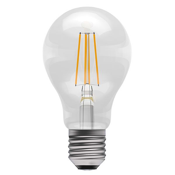 Bell Pro LED Filament GLS Full Glass Dimmable 4W ES Warm White
