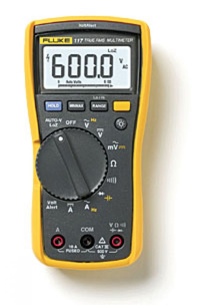 Fluke 117 Electricians Multimeter with Non-Contact voltage