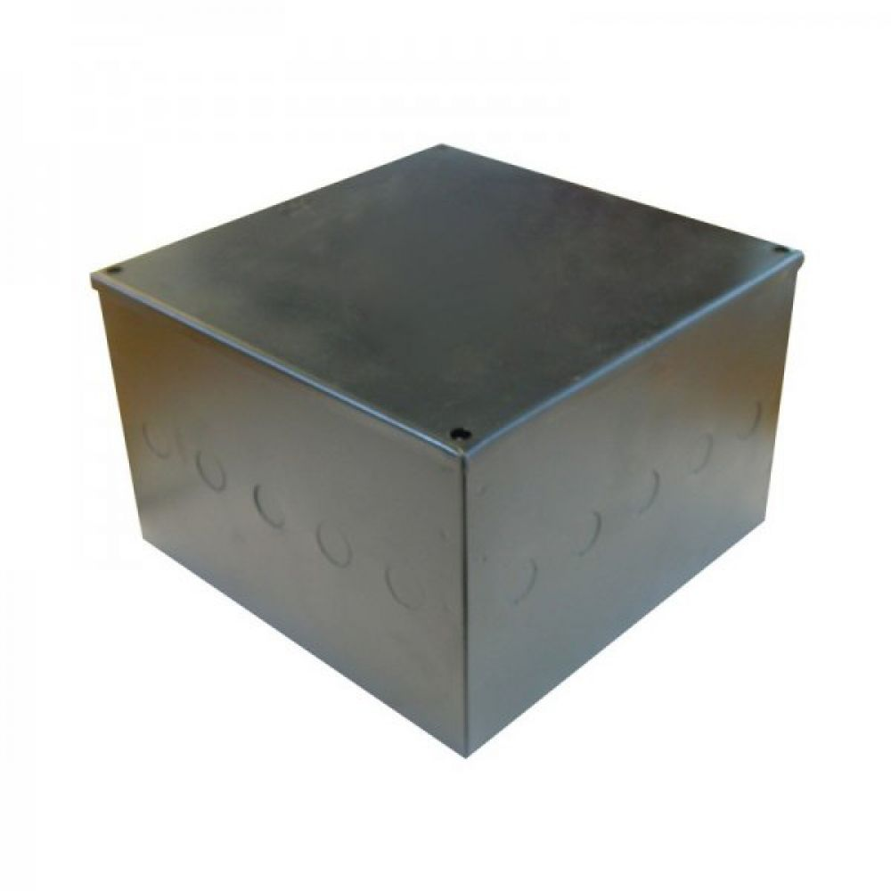 Greenbrook Pre Galvanised Adaptable Box c/w Knockouts 300 x 300 x 100mm