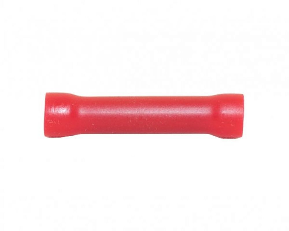 Red Insulated Butt Connector for 0.5-1.5mm Cable