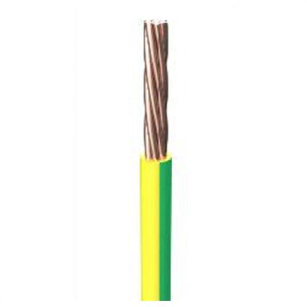 6491B 1.5mm x 100m Low Smoke & Fume (LSOH) Green Yellow