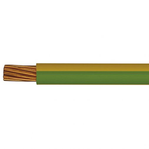 6491B 2.5mm x 100m Low Smoke & Fume (LSOH) Green Yellow