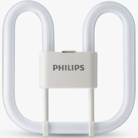 16W 2D 4 Pin White Compact Fluorescent Lamp GR10q Cap 240V