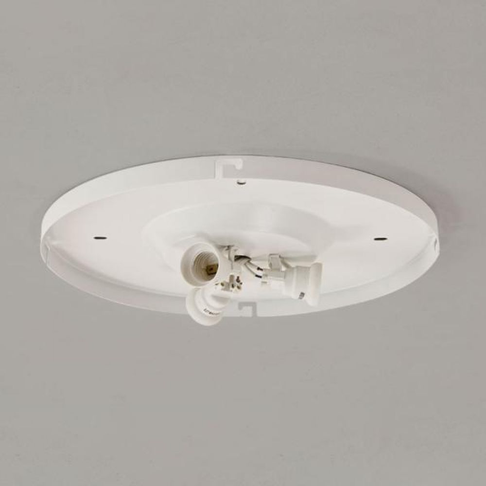 Astro Lighting 1296001 3-Way Plate 7056 for use with Bevel Shades