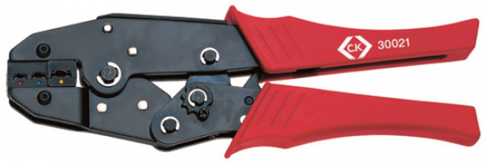 CK Tools Ratchet Crimping Pliers for Insulated Terminals