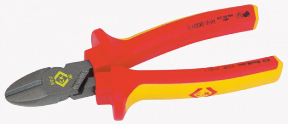 CK Tools 180mm VDE Side Cutters
