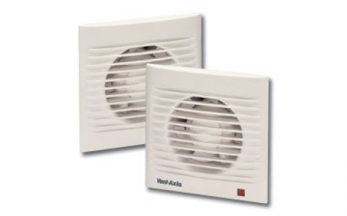 """Vent Axia SILHOUETTE100T Panel Fan c/w Timer 100mm/4"""" 230V"""