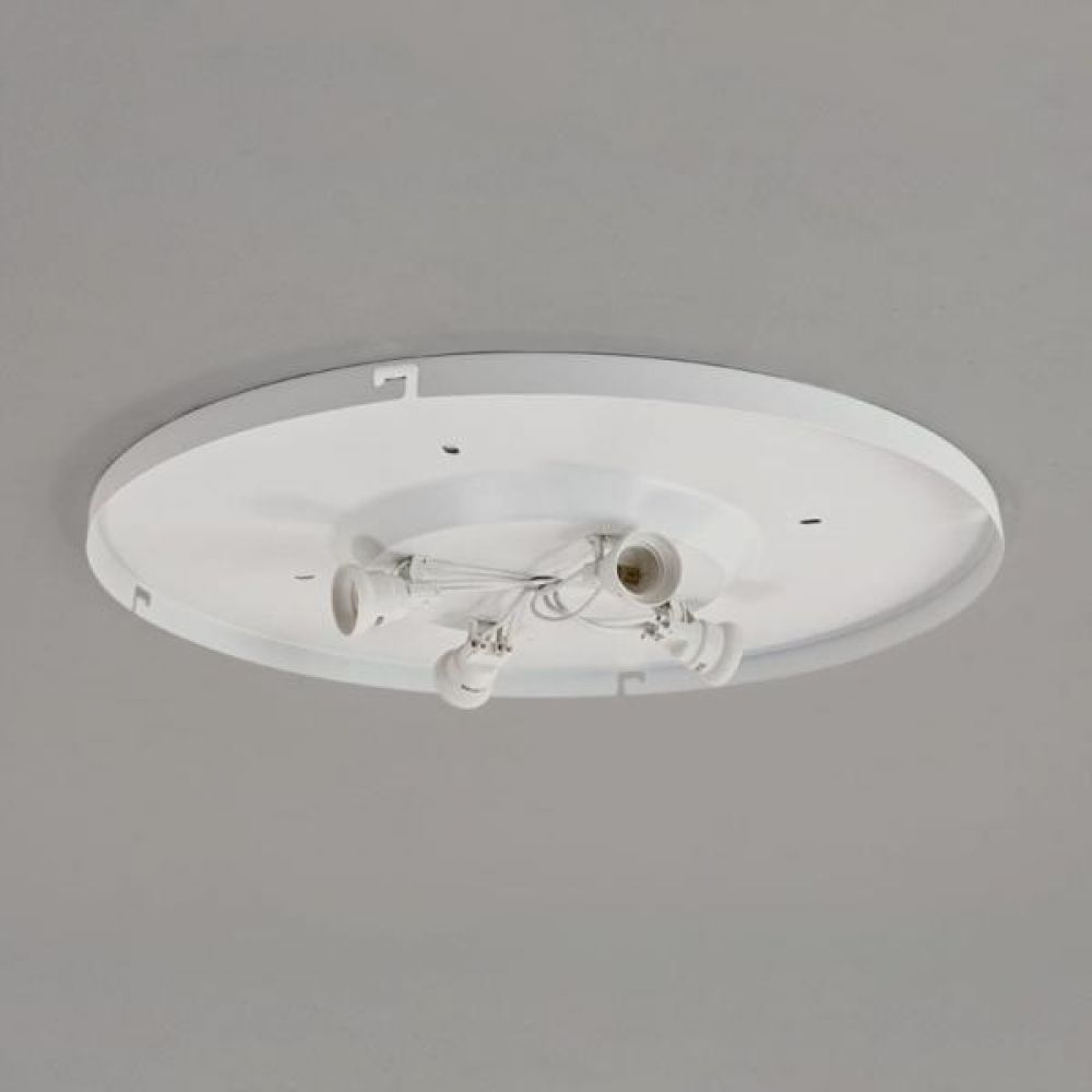 Astro Lighting 1296002 4-Way Plate 7057 for use with Bevel Shades