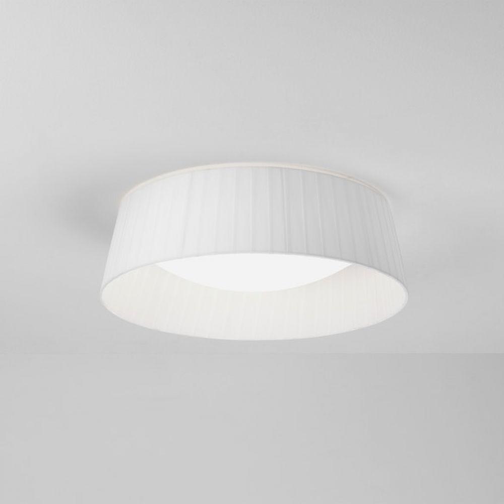 Astro Lighting 5013007 Pleat 370 4199 White Fabric Shade