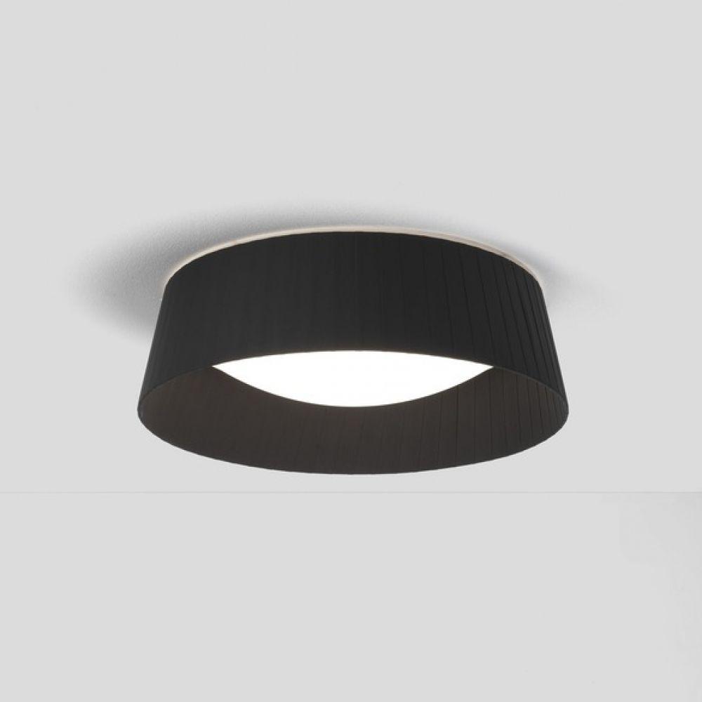 Astro Lighting 5013008 Pleat 370 4200 Black Fabric Shade