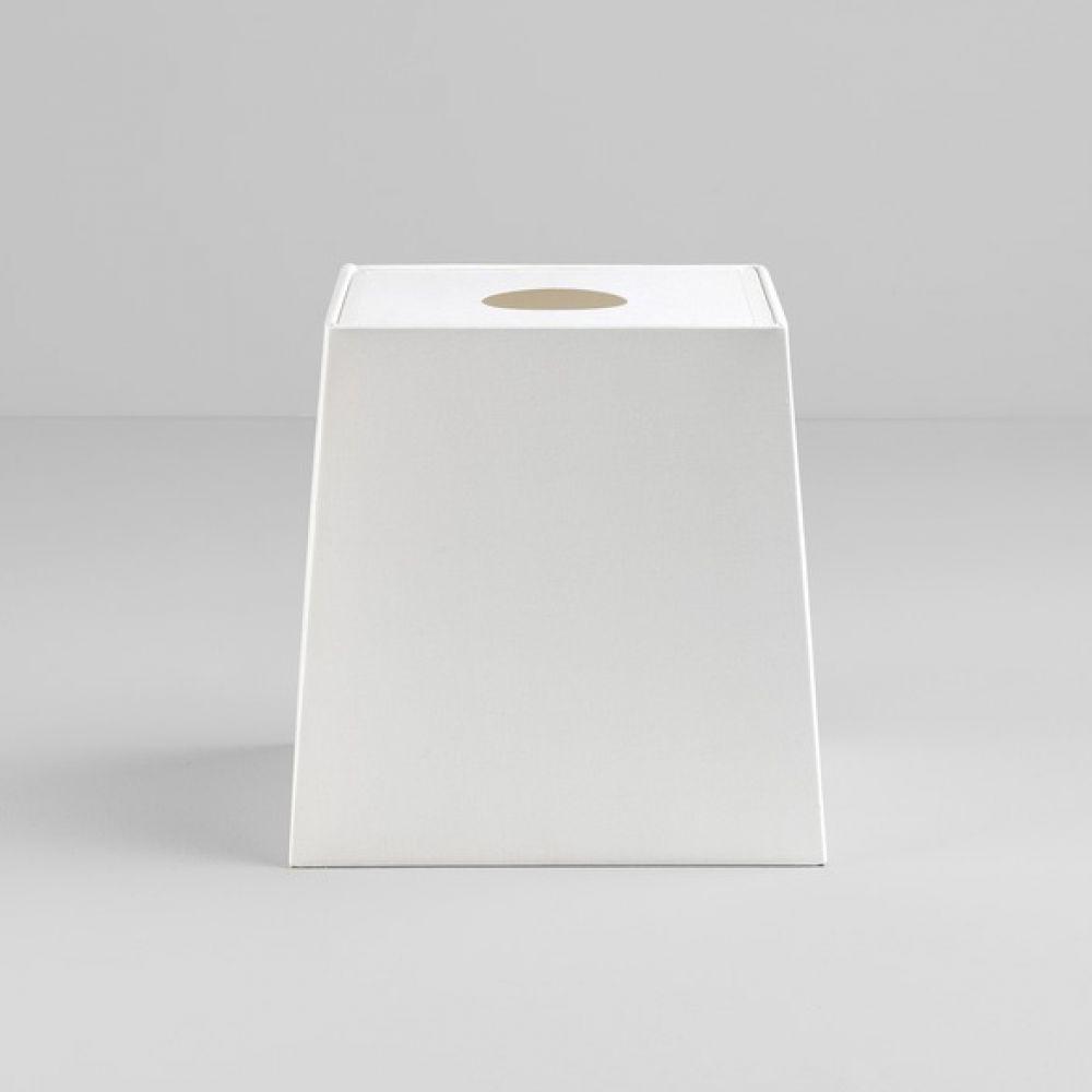 Astro Lighting 5030008 Tapered Square 195 4206 White Fabric Shade
