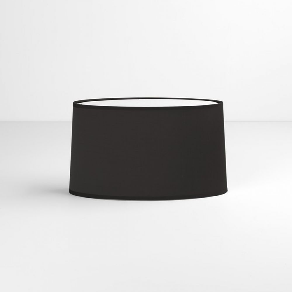 Astro Lighting 5034002 Tapered Oval 4189 Black Fabric Shade
