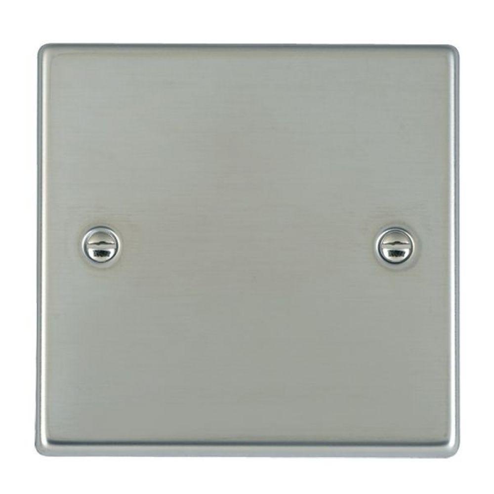 Hamilton Hartland Bright Stainless Single Blank Plate