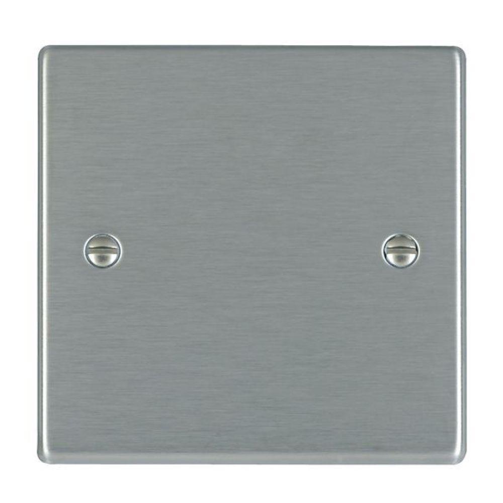Hamilton Hartland Satin Stainless Single Blank Plate