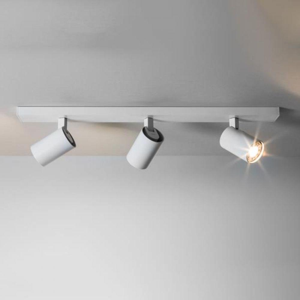 Astro Lighting 1286003 Ascoli Triple Bar 6144 Interior Spotlight. White Finish