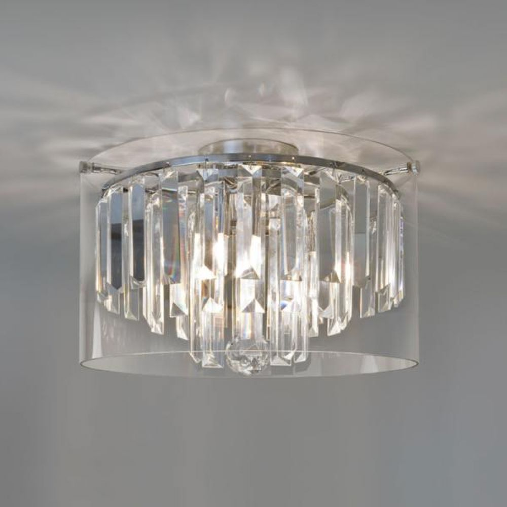 Astro Lighting 1324001 Asini 7169 Bathroom Ceiling Light. Polished Chrome Finish