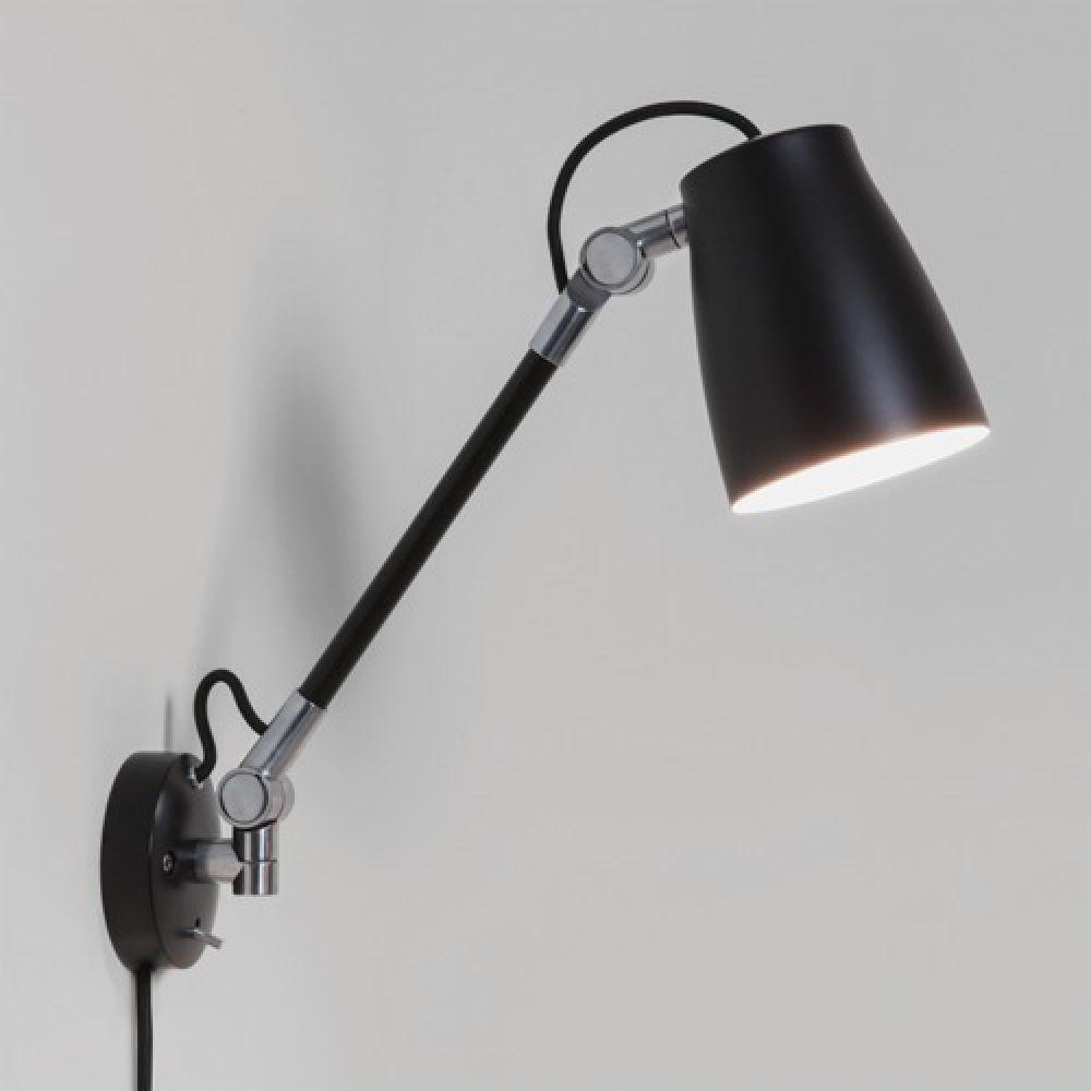 Astro Lighting 1224016 Atelier Grande Wall 7505 Interior Spotlight. Black Finish