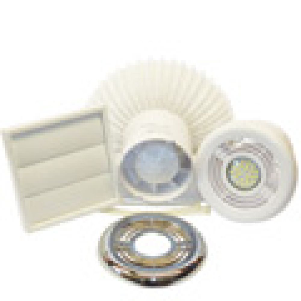 Aura In-Line Shower Fan Light Kit T