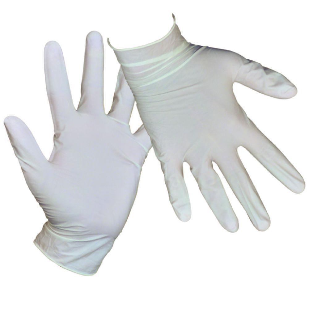 CK Avit Pack 100 Latex Gloves - EN420, EN388 & EN374-2