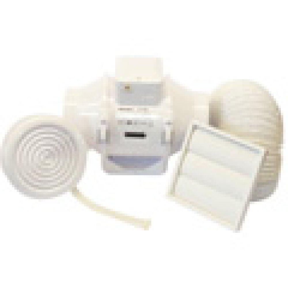Aventa 100B In-Line Mixed Flow Fan Shower Kit