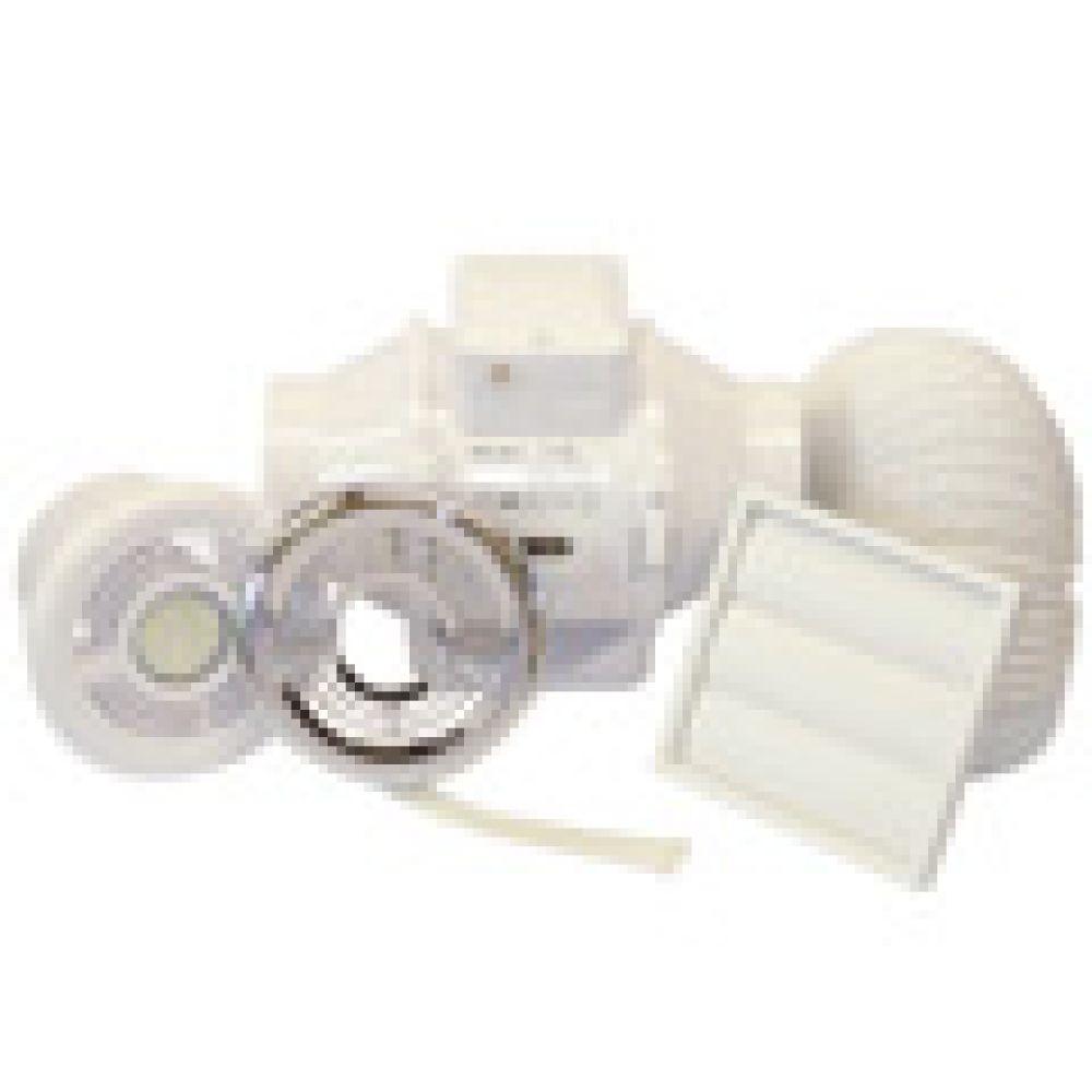 Aventa 100T In-Line Mixed Flow Fan Shower Kit