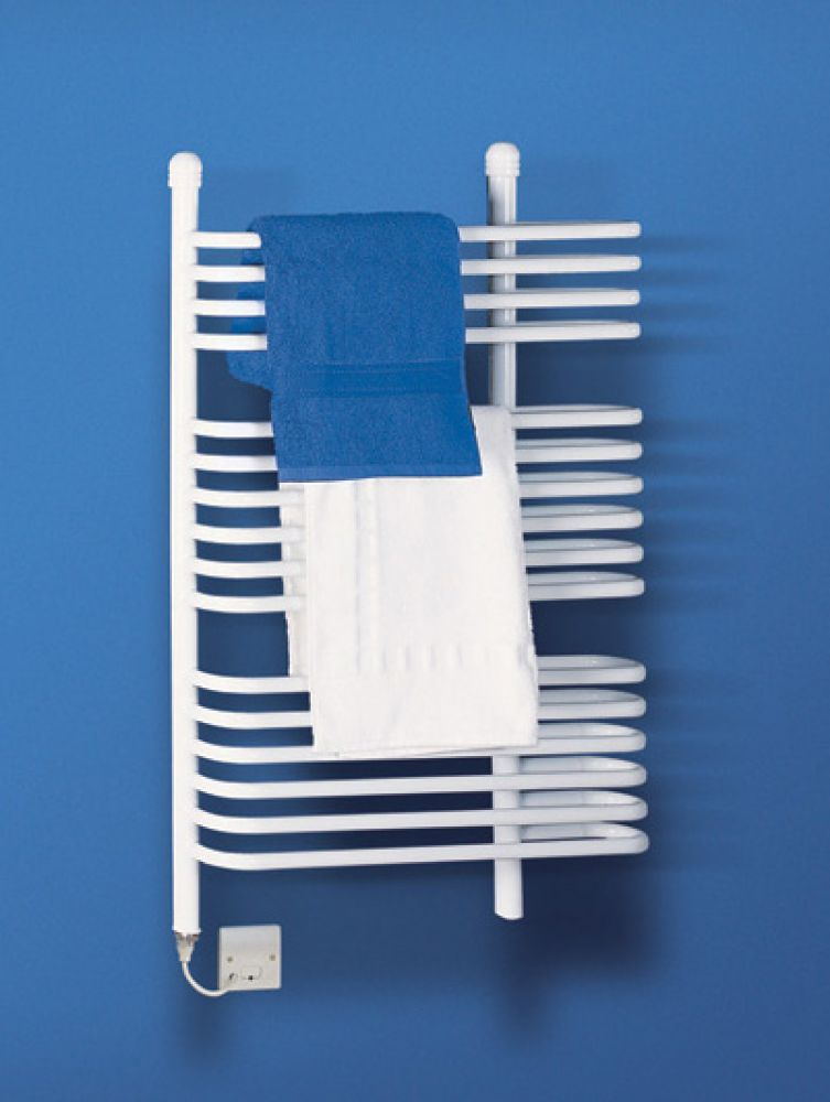 Dimplex 400W White Ladder Towel Rail