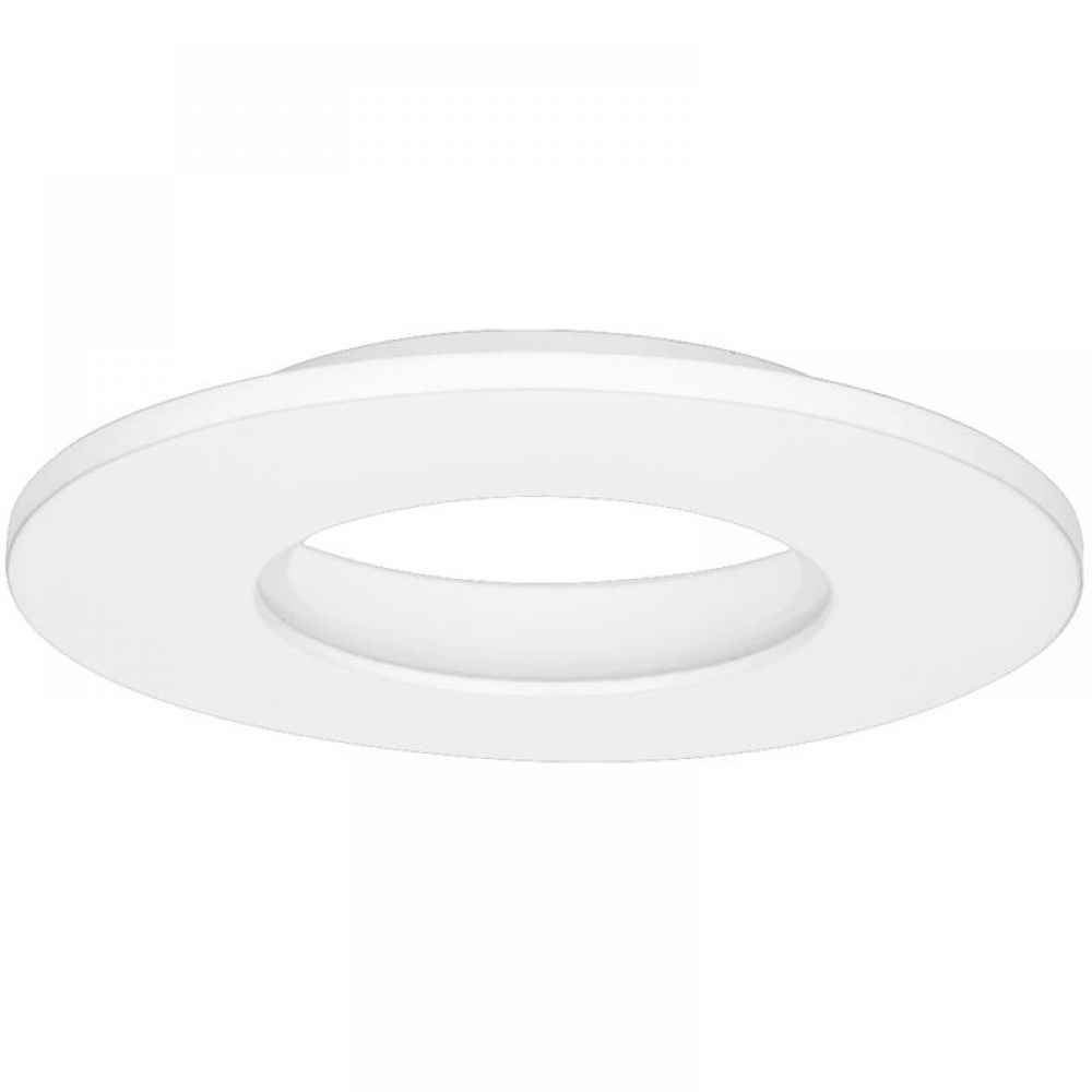 Aurora E8™ Fixed IP65 Aluminium Downlight Bezel - Matt White