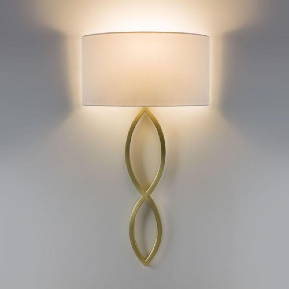 Astro Lighting 1349005 Caserta 7556 Interior Wall Light. Matt Gold Finish